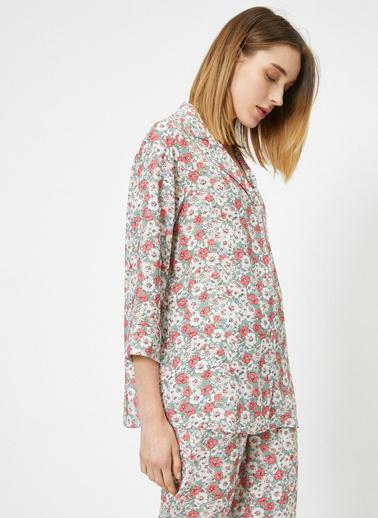 Koton Pijama Üst Yeşil